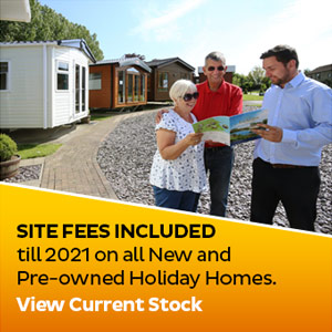 No site fees until 2021 on all New and Pre-owned Holiday Homes. Current Stock.